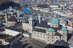 Salzburg panorama Stock Photo