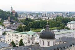 Salzburg on a Rainy Day Royalty Free Stock Photo