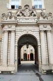 Salzburg residenz palace Stock Image