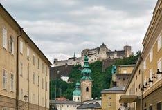 Salzburg-Schloss stockbilder