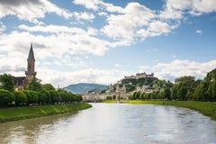 Salzburg Skyline Stock Photo
