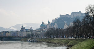 Salzburg in Spring Stock Images