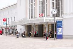 Salzburg station Stock Image