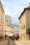 Salzburg Österrike Arkivfoton