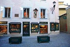 Salzburg Street,Austria Royalty Free Stock Photography