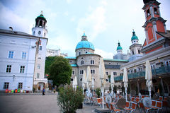 Salzburg Street,Austria Stock Photos