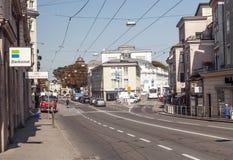 Salzburg street Stock Photo