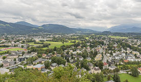 Salzburg suburb cityscape Stock Photography