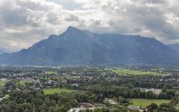 Salzburg suburb cityscape Royalty Free Stock Photo