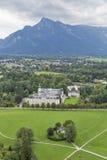 Salzburg suburb cityscape Royalty Free Stock Images