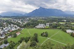 Salzburg suburb cityscape Royalty Free Stock Image