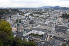 Salzburg.Top view. Royalty Free Stock Photography