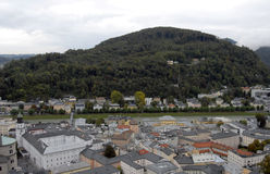 Salzburg.Top view. Royalty Free Stock Images