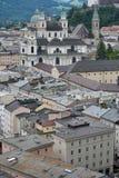 Salzburg. Top view. Stock Photos