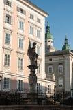Salzburg, um quadrado chamado altera Markt fotos de stock