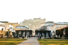 Salzburg Una ciudad en Austria occidental, la capital del estado federal de Salzburg La cuarto más grande ciudad en Austria Fotografía de archivo