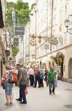 Salzburg, Áustria Fotos de Stock Royalty Free