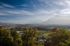 Salzburg veiw Arkivbild