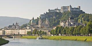 Salzburg view Royalty Free Stock Photos