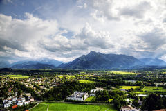 Salzburg view Royalty Free Stock Image
