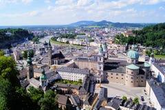 Salzburg view Stock Image