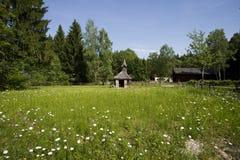 Salzburger的Freilichtmuseum木教会 库存图片