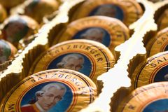 Salzburger Chocolate Stock Image