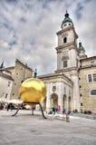 Salzburger Dom in Salzburg Royalty Free Stock Image