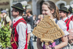 Salzburger Dult Festzug στο Σάλτζμπουργκ, Αυστρία στοκ εικόνες με δικαίωμα ελεύθερης χρήσης