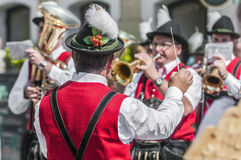 Salzburger Dult Festzug στο Σάλτζμπουργκ, Αυστρία στοκ φωτογραφία