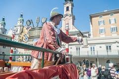 Salzburger Dult Festzug στο Σάλτζμπουργκ, Αυστρία στοκ εικόνα