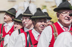 Salzburger Dult Festzug a Salisburgo, Austria Immagini Stock