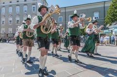 Salzburger Dult Festzug in Salzburg, Österreich Lizenzfreies Stockfoto