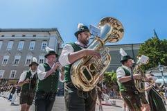 Salzburger Dult Festzug in Salzburg, Österreich Stockbild