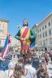 Salzburger Dult Festzug at Salzburg, Austria Stock Image