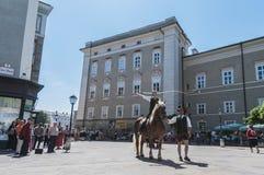 Salzburger Dult Festzug at Salzburg, Austria Royalty Free Stock Image