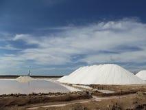 Salzen Sie Raffinerie, Goldgrube, Sanlucar de Barrameda Lizenzfreie Stockfotos