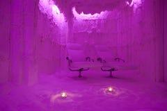 Salzhöhle Stockbilder