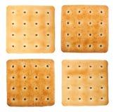 Salzige Cracker Stockbilder