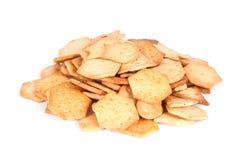 Salzige Cracker Lizenzfreies Stockfoto