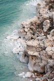 Salzige Felsen-Anordnung Lizenzfreies Stockfoto
