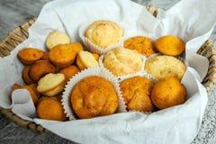 Salzige Muffins Lizenzfreies Stockfoto