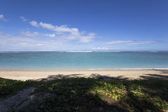 Salziger Strand des La, La Reunion Island, Frankreich Lizenzfreie Stockbilder