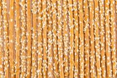 Salziges Breadstickshintergrundmuster Lizenzfreies Stockfoto