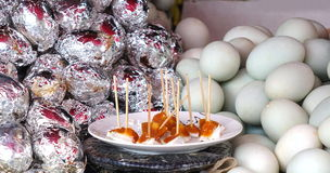 Salziges Duck Eggs Lizenzfreie Stockfotos
