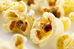 Salziges Popcorn Lizenzfreies Stockfoto