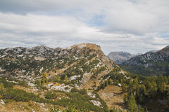 Salzofen mountain Stock Image