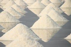 Salzpfanne. Stockbild