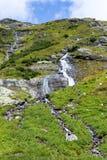 Salzplatten-Wasserfälle Lizenzfreies Stockfoto