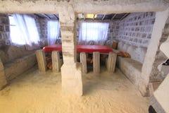 Salzskulpturen, Salar De Uyuni Bolivia Stockbilder